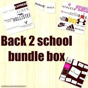 🍎 ✏️ 🏫 📦Back 2 school bundle box 📦 🏫 ✏️ 🍎